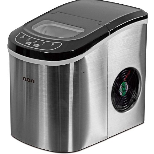 Silver Igloo Counter Top Ice Maker