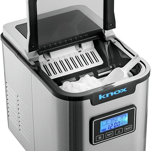 Silver Knox Ice Maker Machine