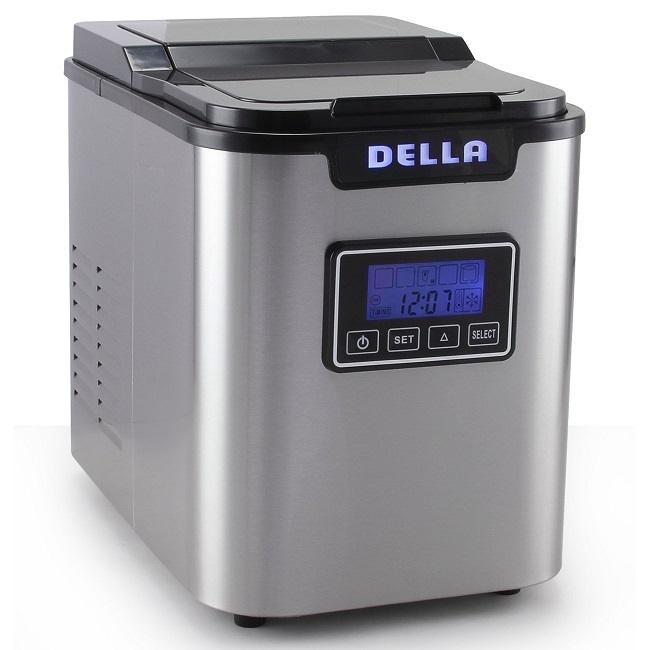 Della counter top ice maker