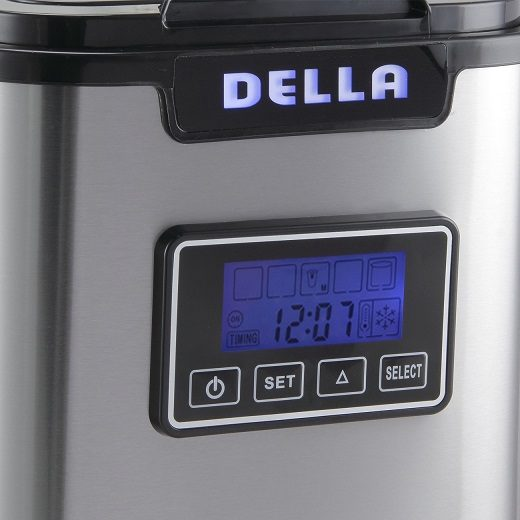 Della counter top ice maker LCD display