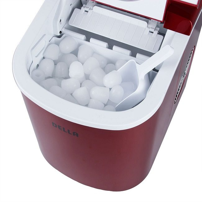 Della portable ice maker storage capacity