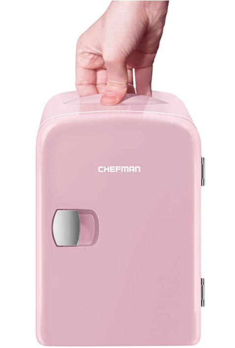 Chefman Mini Portable Compact Personal Fridge