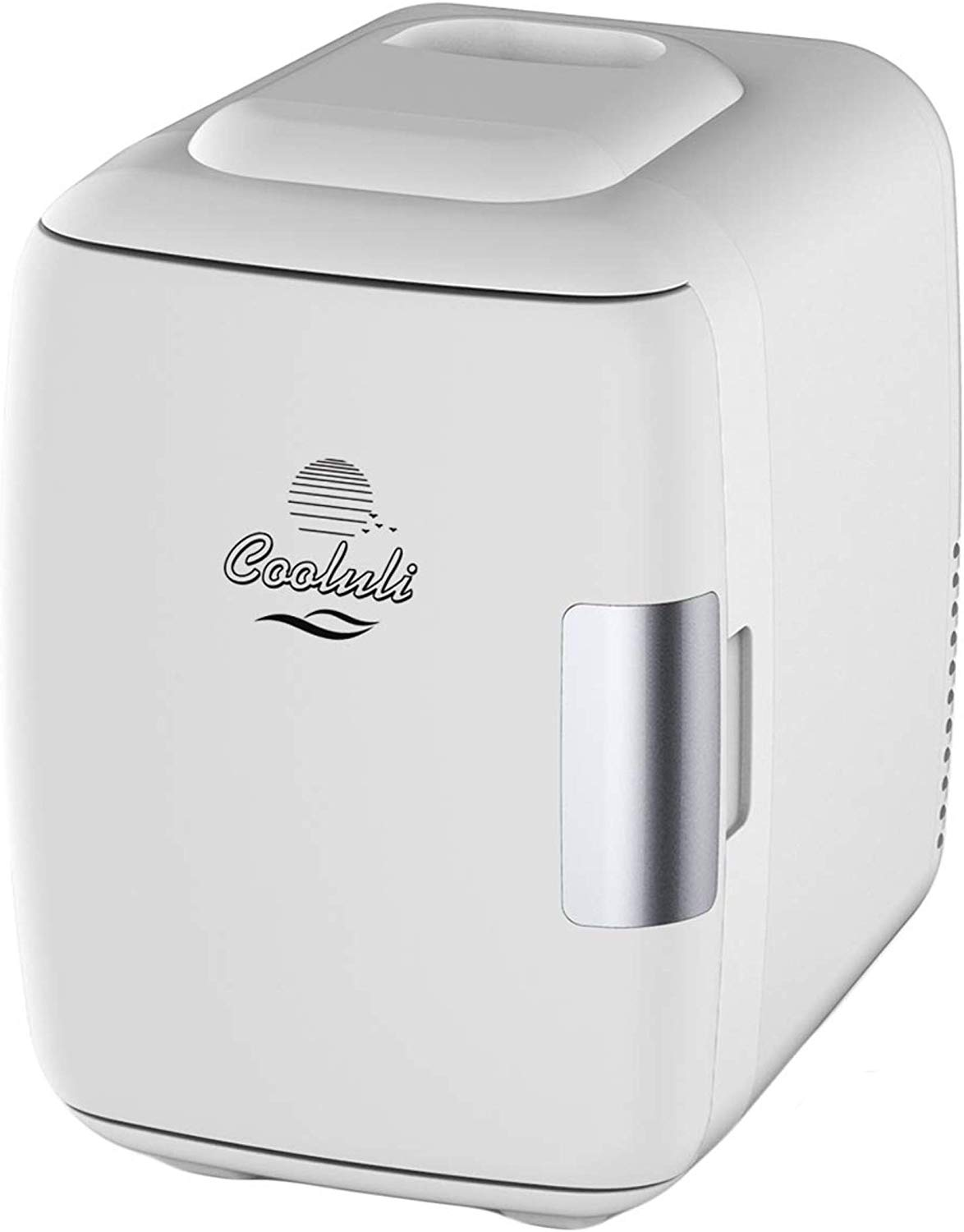 Cooluli Mini Fridge Electric Cooler and Warmer 4 Liter  6 Can ACDC Portable Thermoelectric System