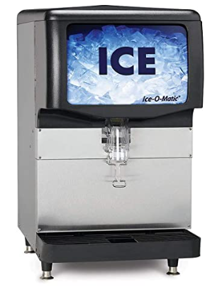 Ice-O-Matic IOD150 22-Inch Countertop Ice Dispenser with 150 lb