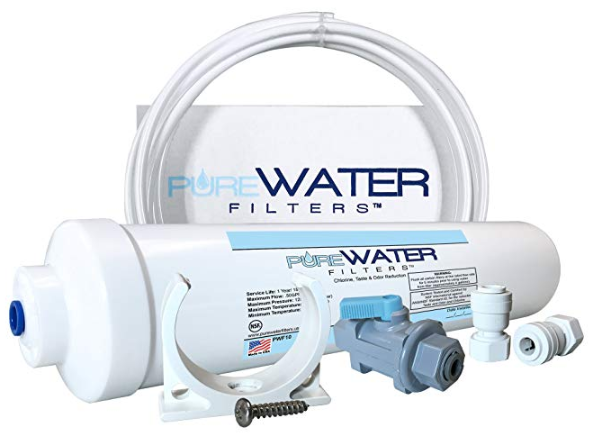 Image of Inline Water Filter Kit for Refrigerators