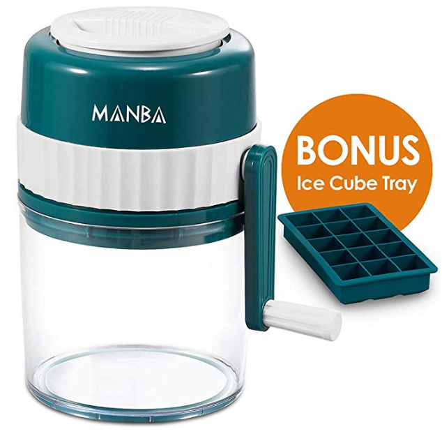 Image of MANBA Manual Ice Shaver and Snow Cone Machine