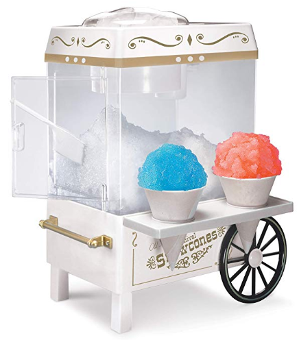 Image of Nostalgia SCM525WH Vintage Countertop Snow Cone Maker