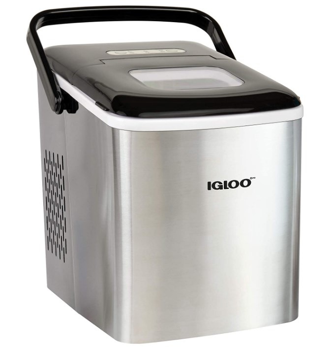 igloo automatic self-cleaning countertop ice maker